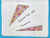 Doodle Notes - Elapsed Time and Temperature Foldable by Math Doodles