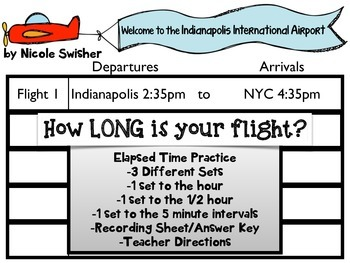 Elapsed Time at the Airport