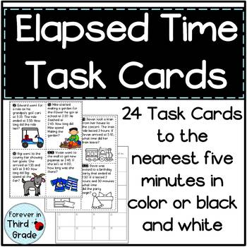 Elapsed Time for Third Grade