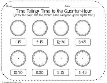 Elapsed Time in Quarter-Hour
