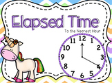 Elapsed Time (nearest hour) Powerpoint and Guided Notes