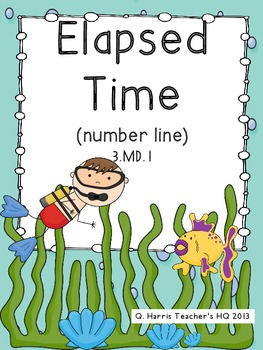Elapsed Time-number line