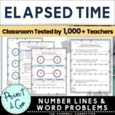 Elapsed Time on a Number Line and More Practice
