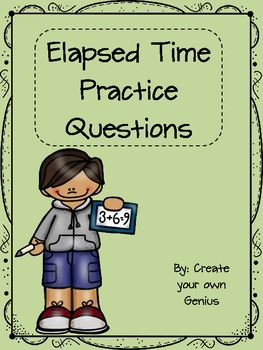 Elapsed Time practice questions
