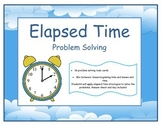 Elapsed Time problem solving task cards