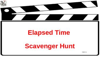 Elapsed Time scavenger hunt- movie themed