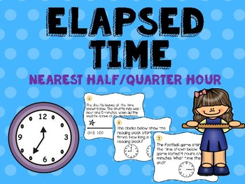 Elapsed Time to the Half and Quarter Hours