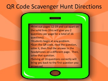 Elapsed Time (to the Hour) Scavenger Hunt