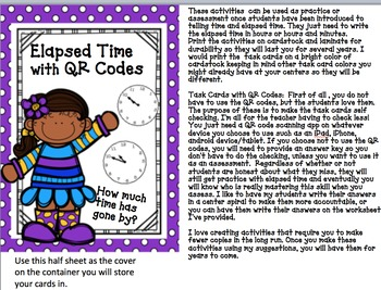 Elapsed Time with QR Codes