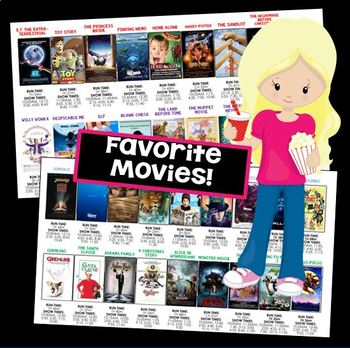 Elapsed Time with a Movie Marathon - GOOGLE CLASSROOM