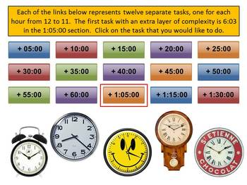 Elapsed Time with the Animated Clock