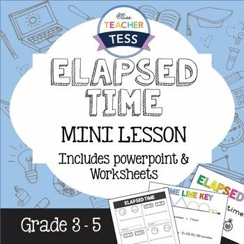 Elapsed time mini lesson