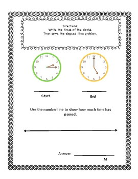 Elapsed time solve the riddle packet