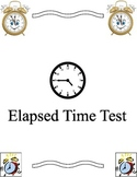 Elapsed time test - to the nearest minute