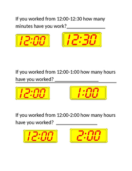 Elasped Time