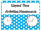 Elasped Time (Exit Ticket, Assessment, Group Activity)