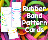 Elastic Band Pattern Cards