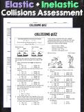 Elastic and Inelastic Collisions Quiz