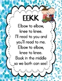 Elbow to Elbow, Knee to Knee Poster