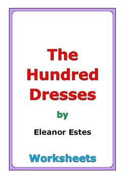 "Eleanor Estes ""The Hundred Dresses"" worksheets"