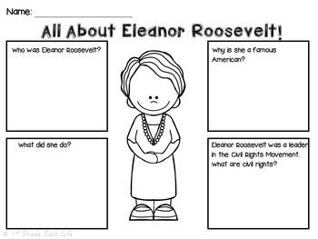 Eleanor Roosevelt Mini Unit