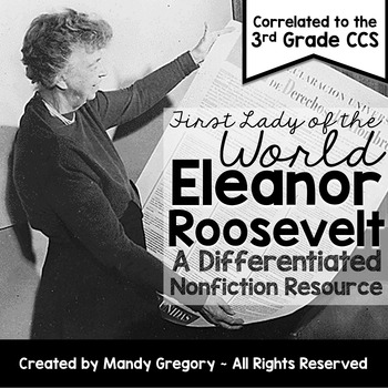 Eleanor Roosevelt: A Differentiated Nonfiction Resource fo