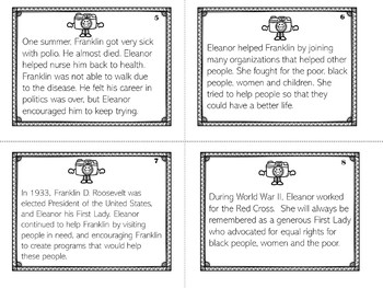 Eleanor Roosevelt | Biography Activity
