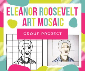 Eleanor Roosevelt Art Collaboration Project