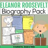 Eleanor Roosevelt Biography Pack - Digital Biography Activity in Google Slides