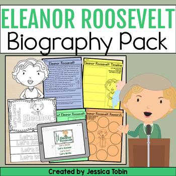 Eleanor Roosevelt Biography Pack