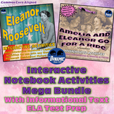 Eleanor Roosevelt Differentiated Social Studies / Reading Activities 2 Pack