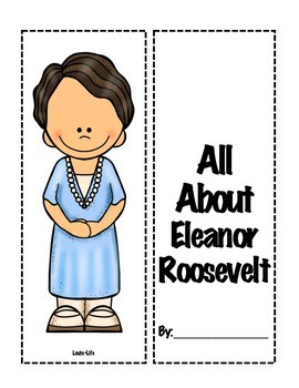 5th Grade (NEW GSE) Social Studies Eleanor Roosevelt Lapbook
