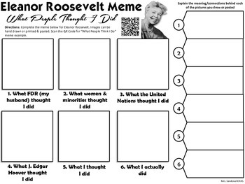 Eleanor Roosevelt Meme Activity