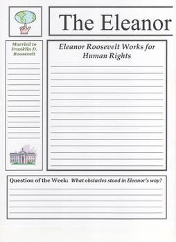 Eleanor Roosevelt Newspaper