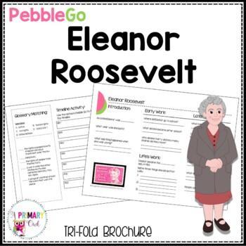 Eleanor Roosevelt Pebble Go research brochure
