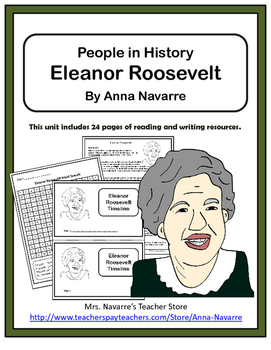 Eleanor Roosevelt - People in History