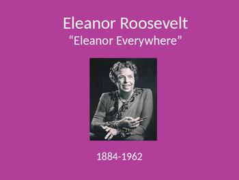 Eleanor Roosevelt PowerPoint