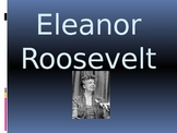 Eleanor Roosevelt PowerPoint for Fill in the blank Notes