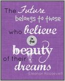 Eleanor Roosevelt Quote Printable Poster