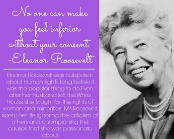 Eleanor Roosevelt Quote and Photo