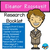 Eleanor Roosevelt-Historical Figure Research Booklet