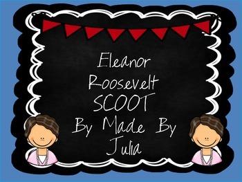 Eleanor Roosevelt Scoot- Great for Georgia Milestone!