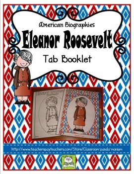 Eleanor Roosevelt Tab Booklet