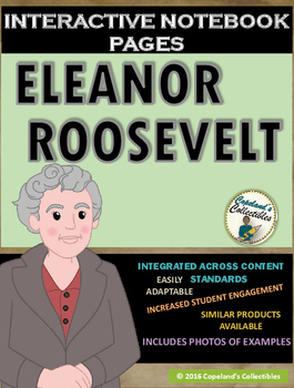 Eleanor Roosevelt's Interactive Notebook Pages