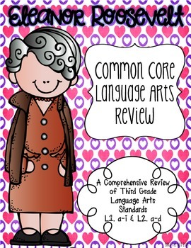 Eleanor Roosevelt's Language Review {Common Core Language