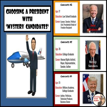 """Presidential Election / Voting - """"Mystery Candidates"""" - Tr"""