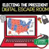 Electing the President Digital Escape Room, Breakout Room Distance Learning