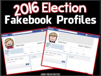 Election 2016 Candidate Fakebook Profiles