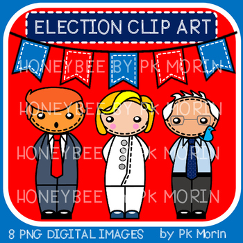 Election 2016 Candidates Clip Art