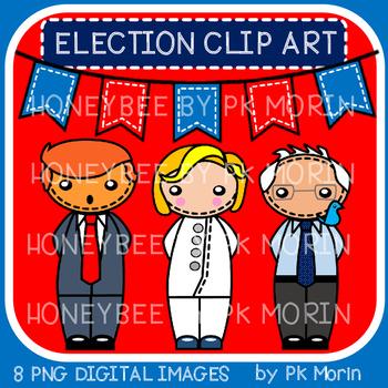Election 2016 Candidates Clip Art